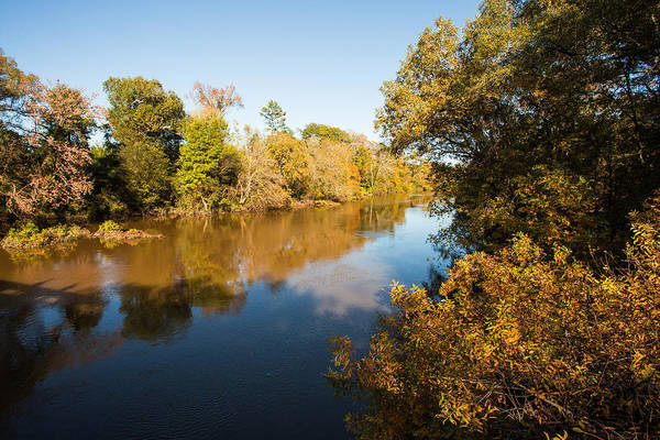 Photograph - Sabine River Near Big Sandy Texas Photograph Fine Art Print 4110 by M K Miller
