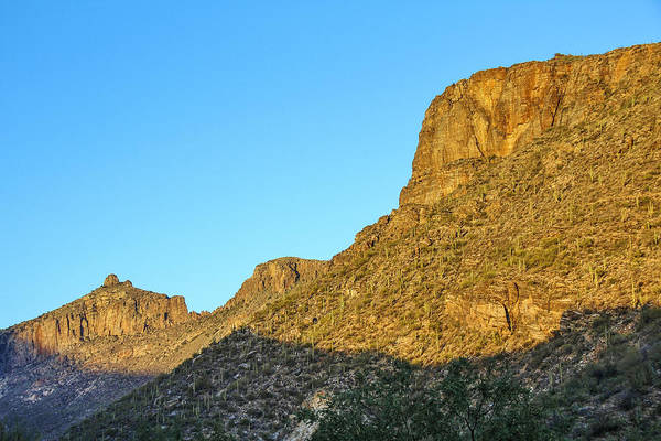 Photograph - Sabino Canyon Wall 2 by Jemmy Archer