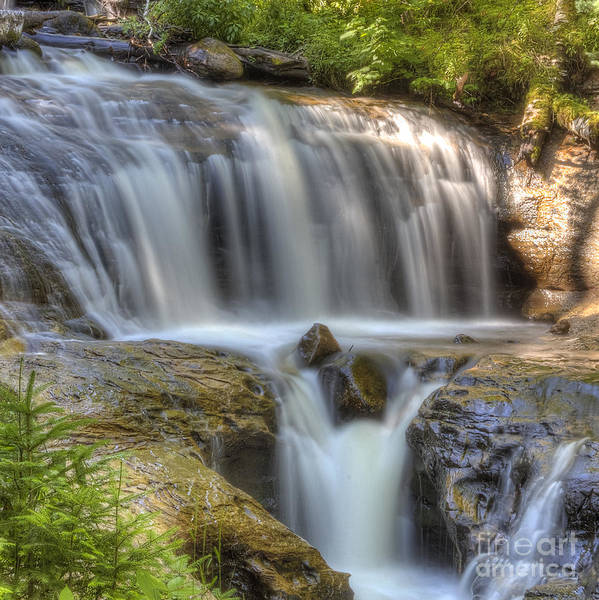 Lake Superior Photograph - Sable Falls by Twenty Two North Photography