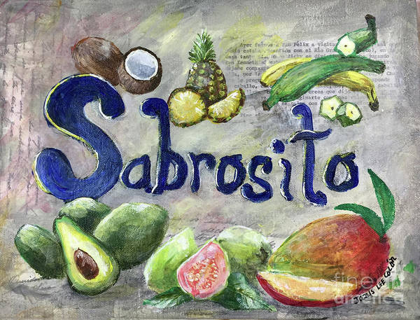 Mixed Media - Sabrosito by Janis Lee Colon