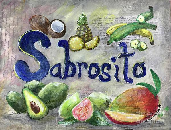 Avocado Mixed Media - Sabrosito by Janis Lee Colon