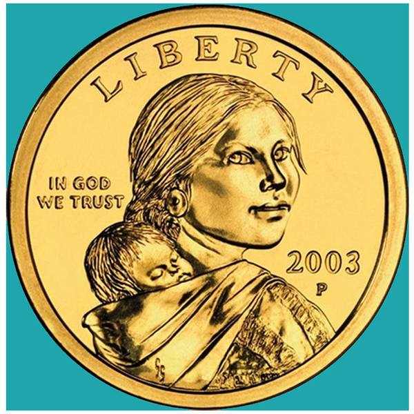 Legal Tender Photograph - Sacagawea Coin by Paul Ward