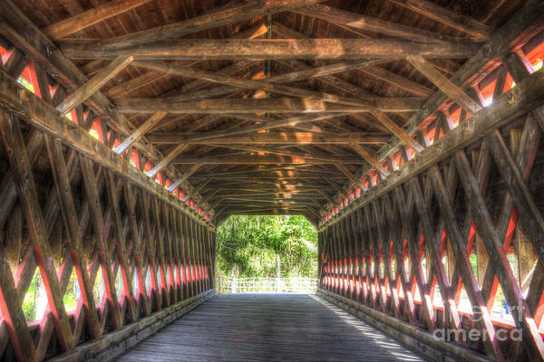 Wall Art - Photograph - Sachs Bridge - Gettysburg - Vert.-hdr by Paul W Faust - Impressions of Light