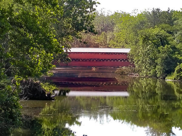Photograph - Sachs Covered Bridge Near Gettysburg National Park by Bill Cannon