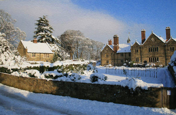 Digital Art - Sackville College In Winter by Julian Perry