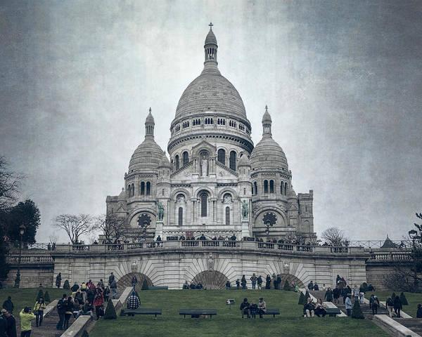 Photograph - Sacre Coeur Paris II by Joan Carroll