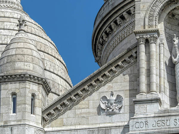 Photograph - Sacre Coeur Up Close by Gary Karlsen