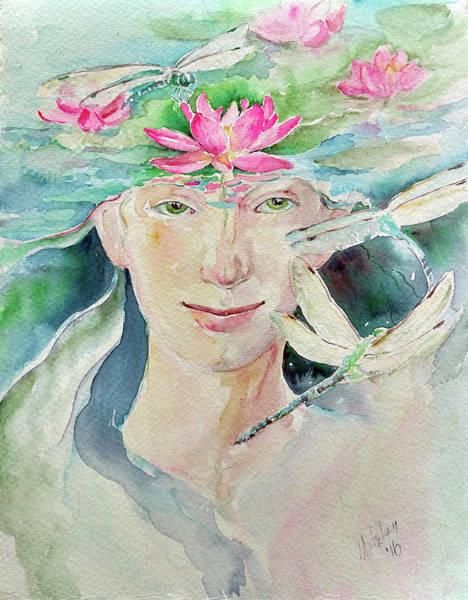 Painting - Sacred Awakening by Christie Martin