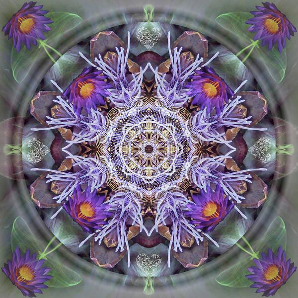 Digital Art - Sacred Emergence by Alicia Kent