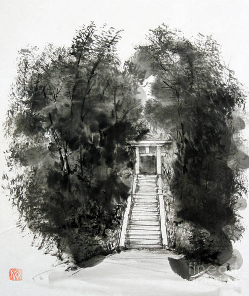 Sacred Gate  Art Print