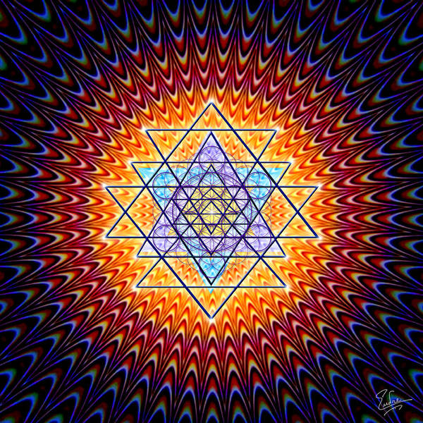 Jewels Digital Art - Sacred Geometry 141 by Endre Balogh