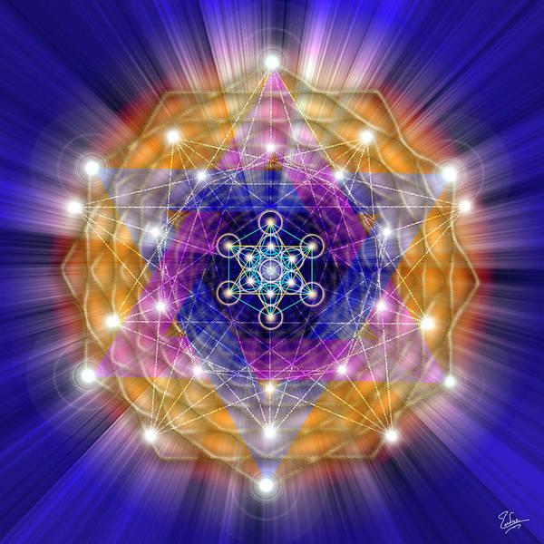 Digital Art - Sacred Geometry 23 by Endre Balogh