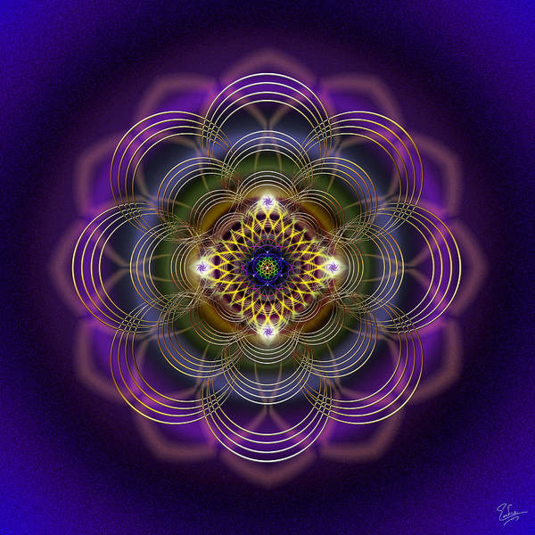 Photograph - Sacred Geometry 408 by Endre Balogh
