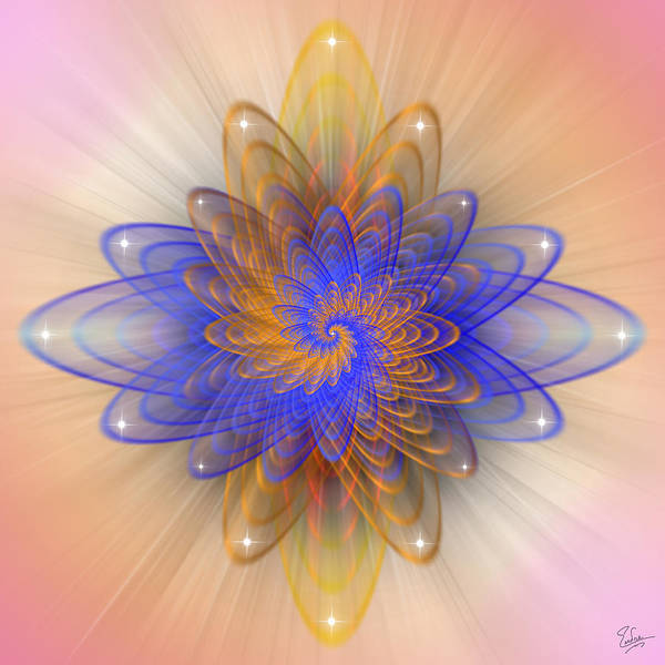 Photograph - Sacred Geometry 409 by Endre Balogh