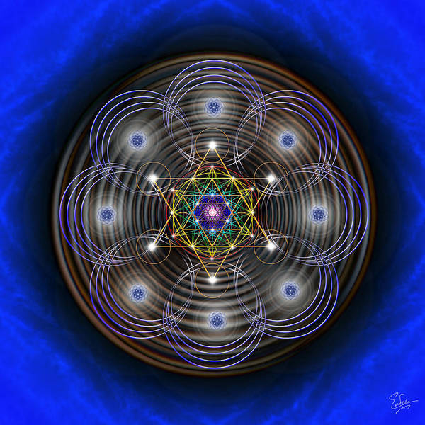 Photograph - Sacred Geometry 410 by Endre Balogh