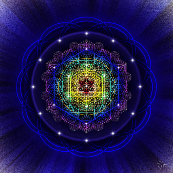 Photograph - Sacred Geometry 411 by Endre Balogh
