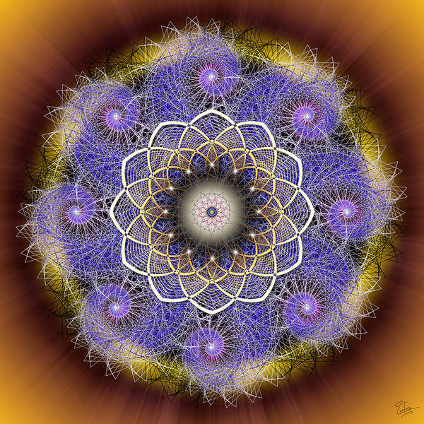 Photograph - Sacred Geometry 412 by Endre Balogh