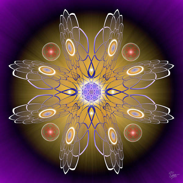 Photograph - Sacred Geometry 413 by Endre Balogh