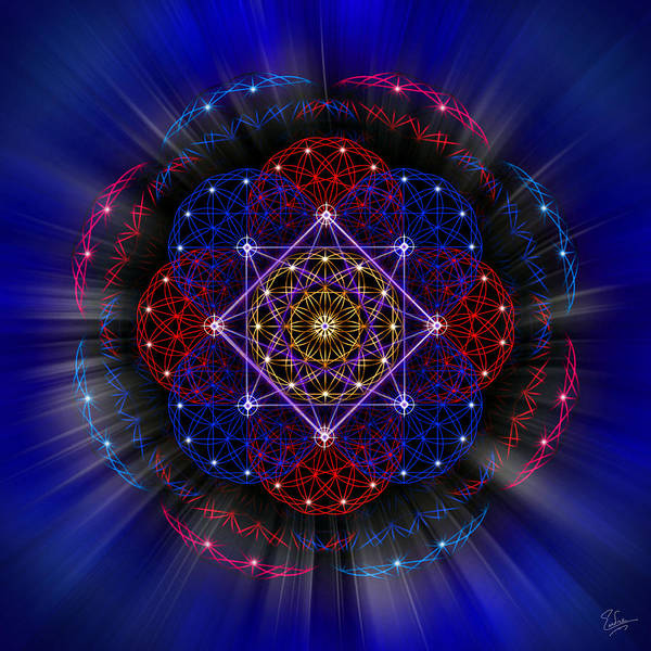 Photograph - Sacred Geometry 419 by Endre Balogh