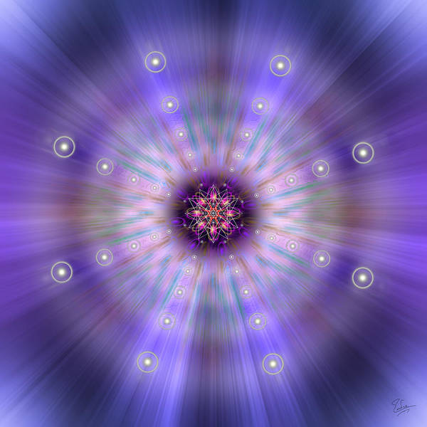 Photograph - Sacred Geometry 420 by Endre Balogh