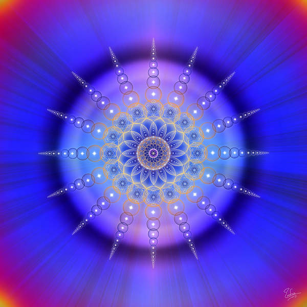 Photograph - Sacred Geometry 421 by Endre Balogh