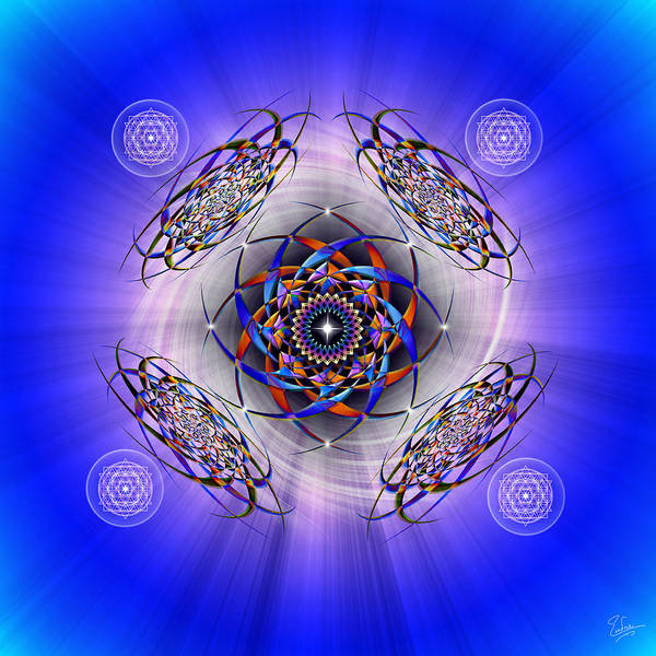 Photograph - Sacred Geometry 425 by Endre Balogh