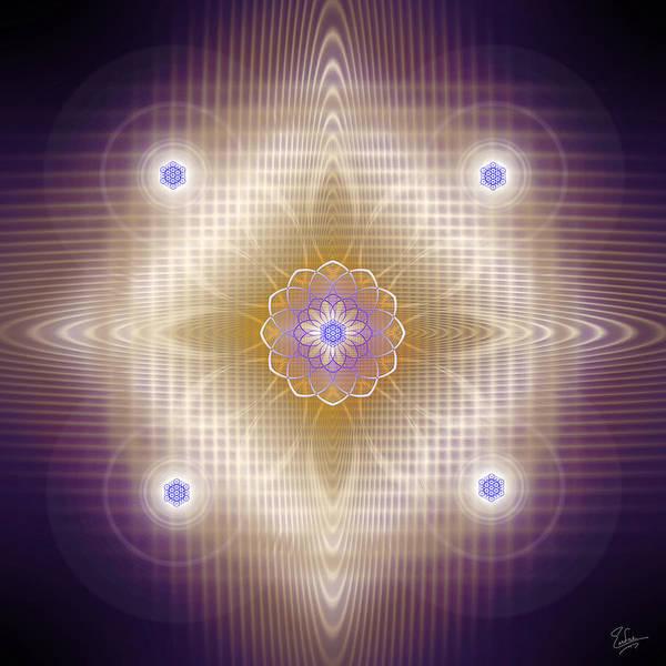 Digital Art - Sacred Geometry 448 by Endre Balogh