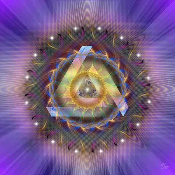 Digital Art - Sacred Geometry 449 by Endre Balogh