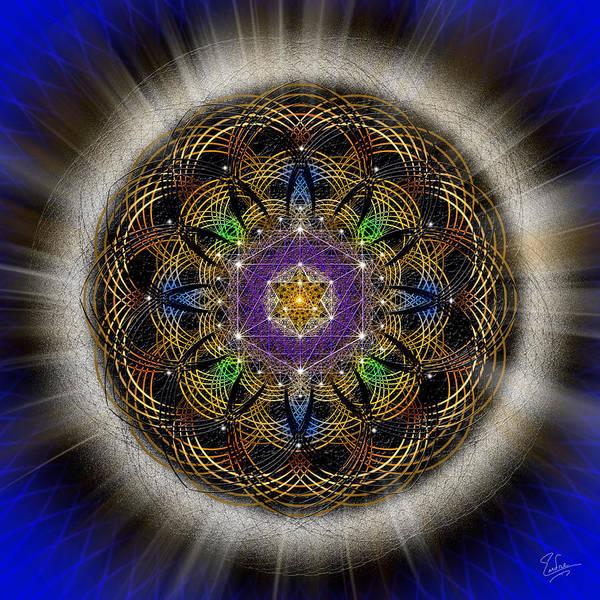 Digital Art - Sacred Geometry 451 by Endre Balogh