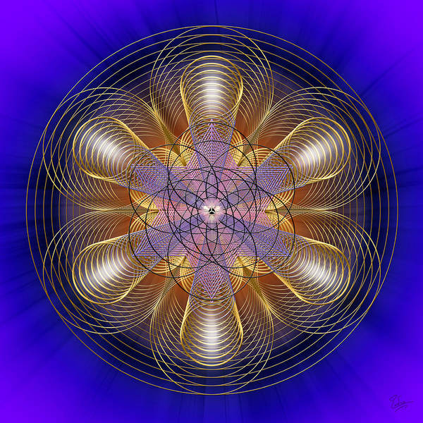 Photograph - Sacred Geometry 461 by Endre Balogh