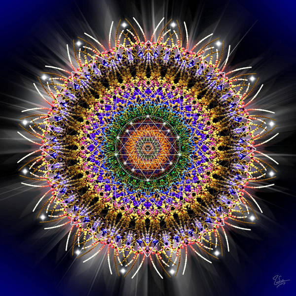 Photograph - Sacred Geometry 463 by Endre Balogh