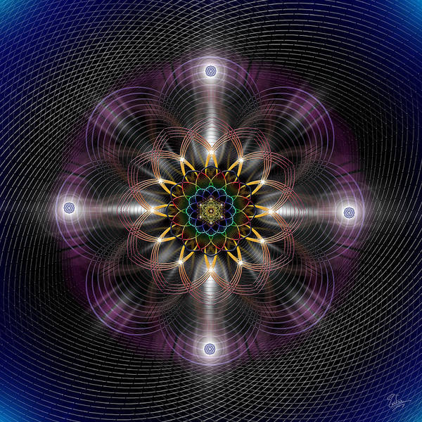 Photograph - Sacred Geometry 474 by Endre Balogh