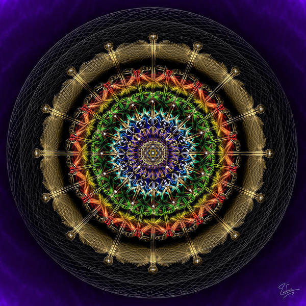 Photograph - Sacred Geometry 475 by Endre Balogh