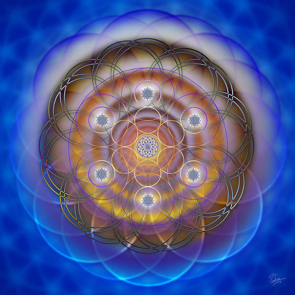 Photograph - Sacred Geometry 477 by Endre Balogh