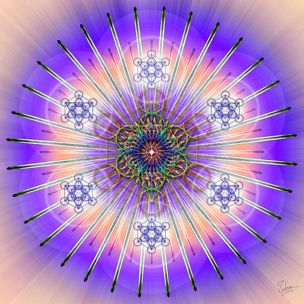 Photograph - Sacred Geometry 480 by Endre Balogh