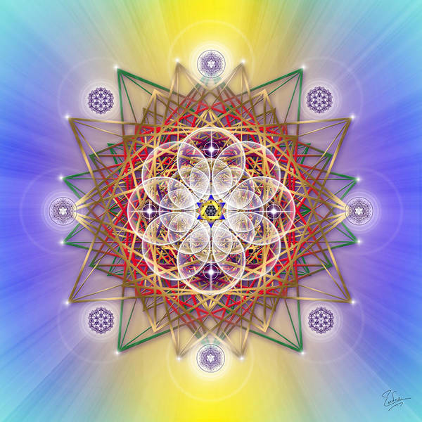 Photograph - Sacred Geometry 501 by Endre Balogh