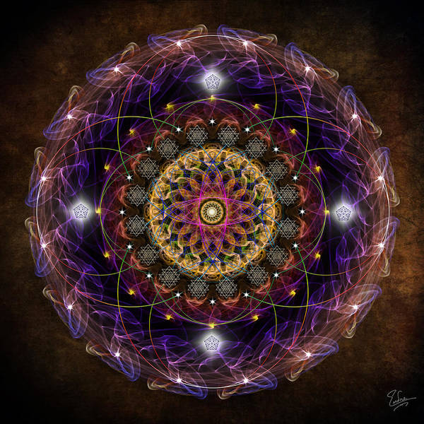 Digital Art - Sacred Geometry 539 by Endre Balogh