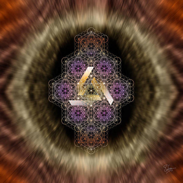 Digital Art - Sacred Geometry 540 by Endre Balogh
