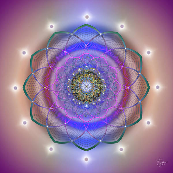 Digital Art - Sacred Geometry 560 by Endre Balogh