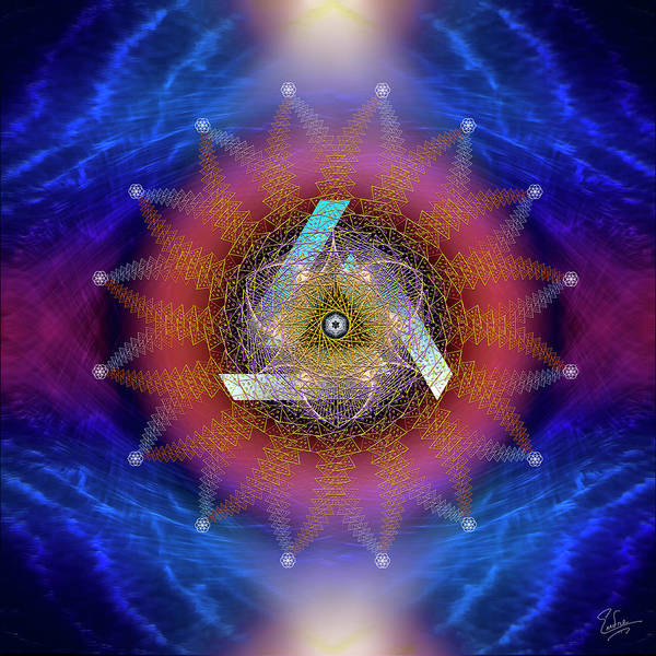 Digital Art - Sacred Geometry 571 by Endre Balogh