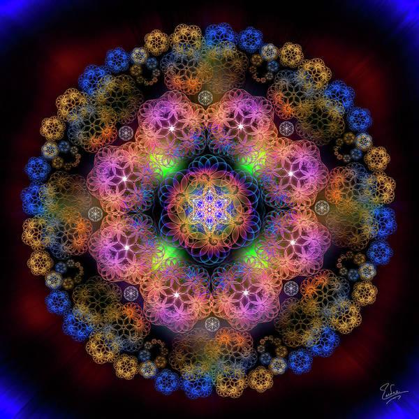 Digital Art - Sacred Geometry 578 by Endre Balogh