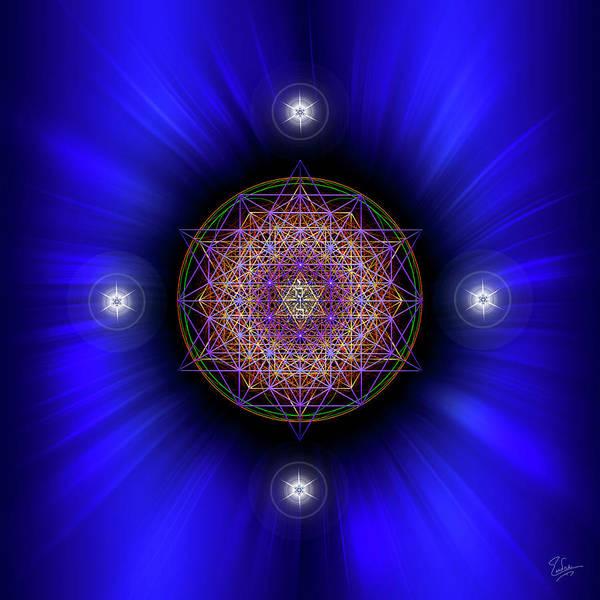 Digital Art - Sacred Geometry 583 by Endre Balogh