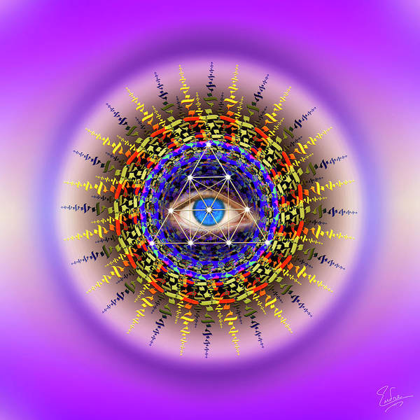 Photograph - Sacred Geometry 594 by Endre Balogh