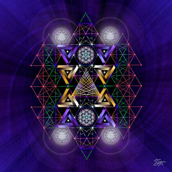 Photograph - Sacred Geometry 605 by Endre Balogh