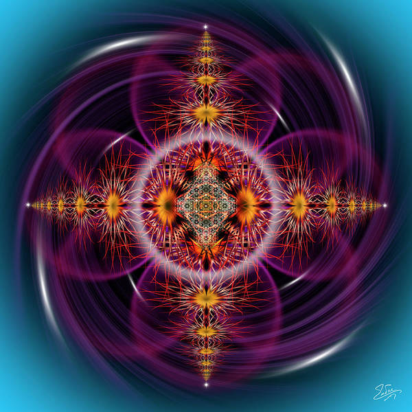 Photograph - Sacred Geometry 611 by Endre Balogh