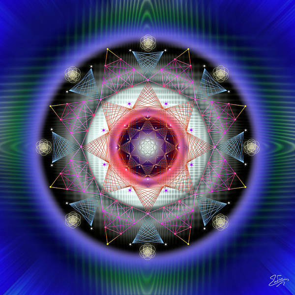 Photograph - Sacred Geometry 613 by Endre Balogh