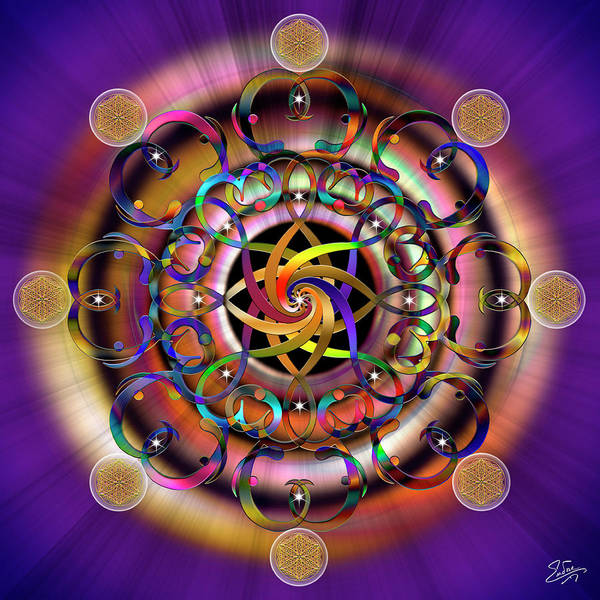 Photograph - Sacred Geometry 620 by Endre Balogh