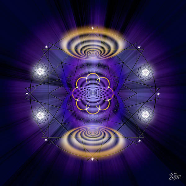 Photograph - Sacred Geometry 621 by Endre Balogh