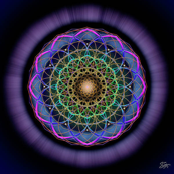 Photograph - Sacred Geometry 624 by Endre Balogh