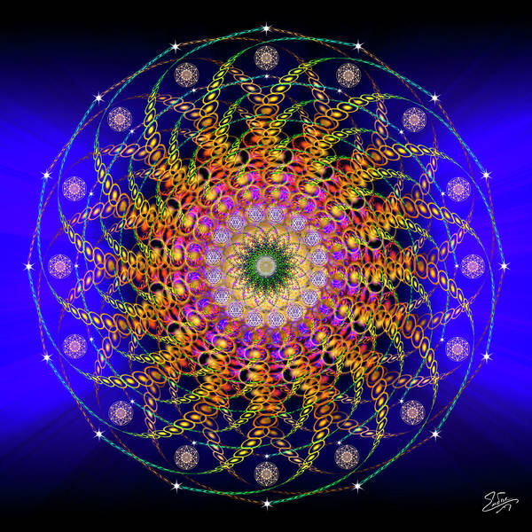 Photograph - Sacred Geometry 627 by Endre Balogh